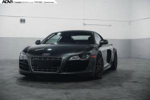 2015 Audi R8 V10 on ADV.1 Wheels (ADV10RMV2CS)